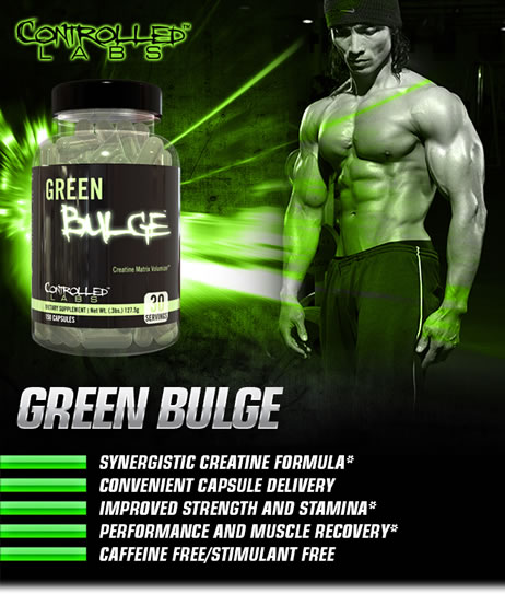 Green Bulge Advanced Creatine Volumizer Supplement