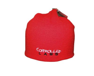 controlled labs red beanie